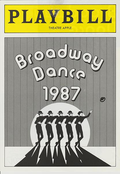 公演「Broadway Dance 1987」シアターアプル
