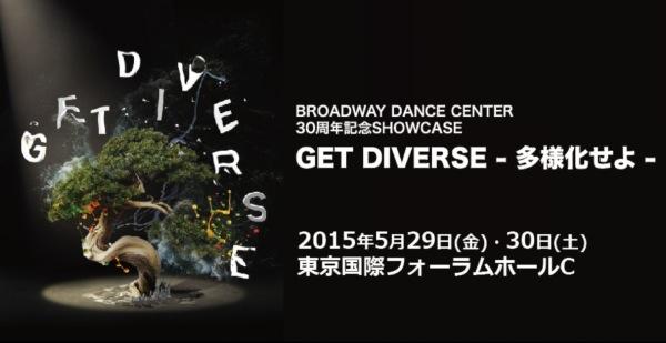 BDC設立30周年記念ショーケース「Get Diverse-多様化せよ-」